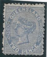 Colonie Anglaise Variété, Queensland,  N° 42 * T Tenant à W Sur TWO - Grande-Bretagne (ex-colonies & Protectorats)