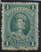 Colonie Anglaise, Queensland ,  N° 50 Oblitéré - Grande-Bretagne (ex-colonies & Protectorats)