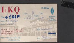 ITALIA  1961 - Arquata Del Tronto (AP) - Radio Amateur