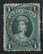 Colonie Anglaise, Queensland,  N° 50 Oblitéré Fil Couché - Grande-Bretagne (ex-colonies & Protectorats)