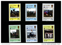 ISLE OF MAN - 2007  EUROPA-SCOUTING  SET MINT NH - Isola Di Man