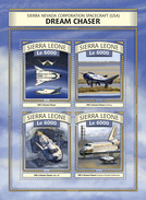 SIERRA LEONE 2016 - Dream Chaser Spaceplane. Official Issue. - Space