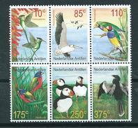 2001 Netherlands Antilles Complete Set Birds,oiseaux,vögel,vogels MNH/Postfris/Neuf Sans Charniere - Curaçao, Antilles Neérlandaises, Aruba