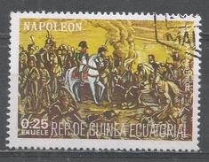 Equatorial Guinea 1977, Scott #7786 Napoleon, Life And Battle Scenes (U) - Guinée Equatoriale