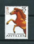 2002 Netherlands Antilles Year Of The Horse,pferd,paard MNH/Postfris/Neuf Sans Charniere - Curaçao, Antilles Neérlandaises, Aruba