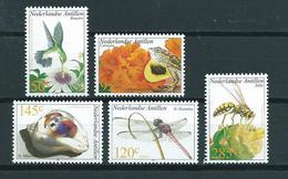 2002 Netherlands Antilles Complete Set Flora&fauna MNH/Postfris/Neuf Sans Charniere - Curaçao, Antilles Neérlandaises, Aruba