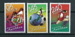 2002 Netherlands Antilles Complete Set Football,voetbal,soccer MNH/Postfris/Neuf Sans Charniere - Curaçao, Antilles Neérlandaises, Aruba