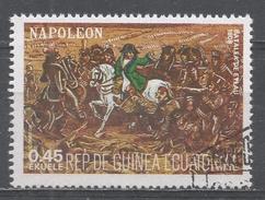 Equatorial Guinea 1977, Scott #7790 Napoleon, Life And Battle Scenes (U) - Guinée Equatoriale