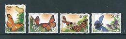 2002 Netherlands Antilles Complete Set Vlinders,butterflies,schmetterlinge,papillon MNH/Postfris/Neuf Sans Charniere - Curaçao, Antilles Neérlandaises, Aruba