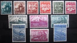 BELGIQUE               N° 761/772             NEUF* - Unused Stamps