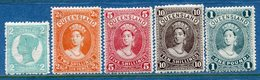 Colonie Anglaise, Queensland,  N° 103 à 107 * - Grande-Bretagne (ex-colonies & Protectorats)
