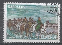 Equatorial Guinea 1977. Scott #7794 (U) Napoleon, Life And Battle Scenes - Guinée Equatoriale