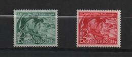 ALLEMAGNE (IIIe Reich ) 1938 Rattachement Du Pays Des Sudètes. N°625 Et 626.Neufs, Sans Gomme. - Allemagne