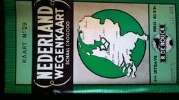 Wegenkaart Of Nederland, Schaal: 1/400000; 1ste Uitgave R.De Rouck - Wegenkaarten