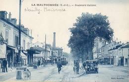 CPA - NEUILLY-PLAISANCE (93) -La MALTOURNéE ,  Aspect Du Boulevard Galliéni En 1920 - Neuilly Plaisance