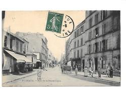 PUTEAUX. - Rue De La République.   (Nettoyage Rue) - Puteaux