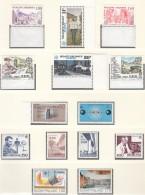 EUROPA CEPT, Jahrgang 1983, Postfrisch **, 62 Marken, 5 Blöcke, 5 Blockmarken, Werke Des Menschlichen Geistes - 1983