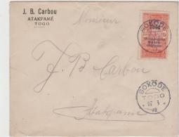 FAF133 / Togo, Sokode Nach Atakame Von 1916, 10 C. Einzeln. - Togo (1914-1960)
