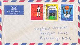 20757. Carta Aerea ZANZIBAR (tanzania) 1964 To Alemania DDR - Zanzibar (1963-1968)