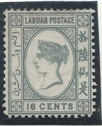 Colonie Anglaise, Labuan, N° 27 * - Grande-Bretagne (ex-colonies & Protectorats)