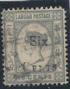 Colonie Anglaise, Labuan, N° 47 Oblitéré - Grande-Bretagne (ex-colonies & Protectorats)