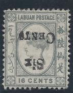 Colonie Anglaise, Labuan, N° 47 A Oblitéré Signé Brun Et Calves - Grande-Bretagne (ex-colonies & Protectorats)
