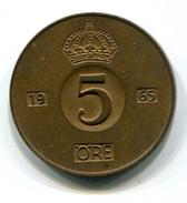 1965 Sweden 5 Ore Coin - Sweden