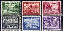 Deutsches Reich, 1941, Mi 773-778 ** (Mi 774; 777 *) [221216StkKV] - Neufs