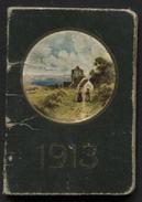 Petit Calendrier 5,2 X 3,8cm 1913. TB - Calendriers