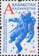 Kz 901 Kazakhstan Kasachstan 2015  Cosmonaut Leonov - Kasachstan