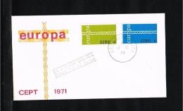 1971 - Europe CEPT FDC Ireland [P15_106] - 1971