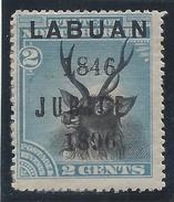 Labuan - N° 66 * - Neuf Avec Charnière - Variété De Surcharge : JUBILE - RARISSIME - Grande-Bretagne (ex-colonies & Protectorats)