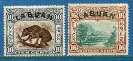 Colonie Anglaise, Labuan Variété, N° 104 à 105 * - Grande-Bretagne (ex-colonies & Protectorats)