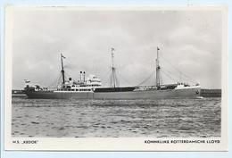 "KoninKlijke Rotterdamsche Lloyd - M.S. ""Kedoe"" - Tankers"