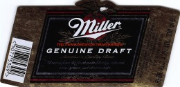 Miller Genuine Draft - Bière