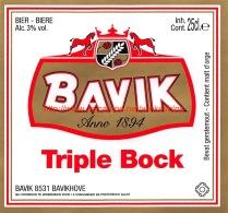 Bavik - Triple Bock - Beer