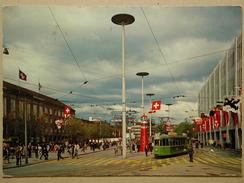 Tram, Schweizer Mustermesse, Basel - Tram