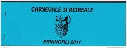 Acireale, Catania, Erinnofili, Carnevale 2011 - Vignetten (Erinnophilie)