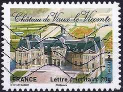 France 2012 - Vaux-le-Vicomte Castle ( Mi 5383 - YT AD 731 ) - Frankreich