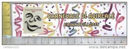 Acireale, Catania, Erinnofili, Carnevale 2015 - Vignetten (Erinnophilie)