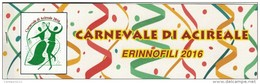 Acireale, Catania, Erinnofili Carnevale 2016 - Vignetten (Erinnophilie)