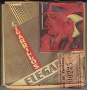 PAQUETE ANTIGUO DE CIGARRILLOS ELEGANTES DE CANARIAS NUEVO Y CON SELLO DE PRECINTO (TABACO) - Fuma Cigarrillos