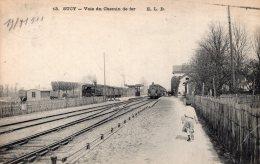 V5991 Cpa 94 Sucy En Brie - Voie Du Chemin De Fer - Sucy En Brie
