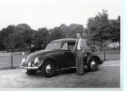 Photo VOLKSWAGEN Coccinelle Blegique Vers 1950 Auto Car VW - Automobiles