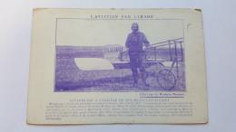 L'AVIATION PAR L'IMAGE CPA Animee Postcard - Aviation