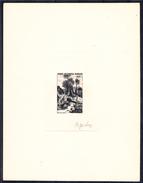 AFRIQUE EQUATORIALE - N° 213 - Paysage De Jungle - Epreuve D'artiste Sans Valeur Dans Le Cartouche - Signée. - Autres