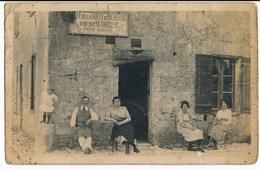 37. CPA Photo. SAINT-ETIENNE-DE-CHIGNY. Café De La Queue De Merluche. Commerce Près Tours - France
