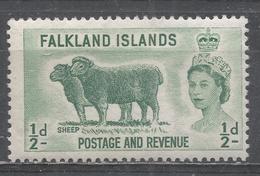 Falkland Islands 1957. Scott #122 (MH) Sheep - Falkland