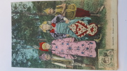 SAIGON ACTEURS ANNAMITES  CPA Animee Postcard - Other