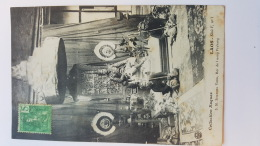 LAOS ROI DE LUANG PRABANG CPA Animee Postcard - Postcards